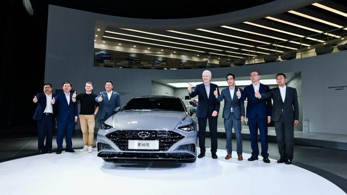 北京现代4款新车亮相2019上海国际车展 第十代索纳塔领衔