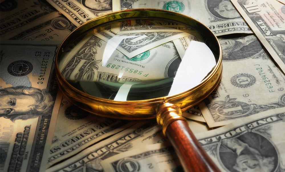美元指數17日下跌 匯市尾市收于97.0111