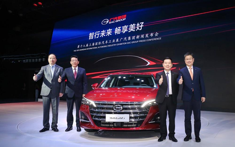 广汽传祺全新GA6全球首发 概念车ENTRANZE亮相