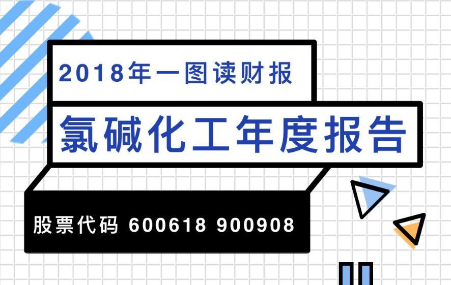 一图读财报:氯碱化工2018年度净利润10.53亿元