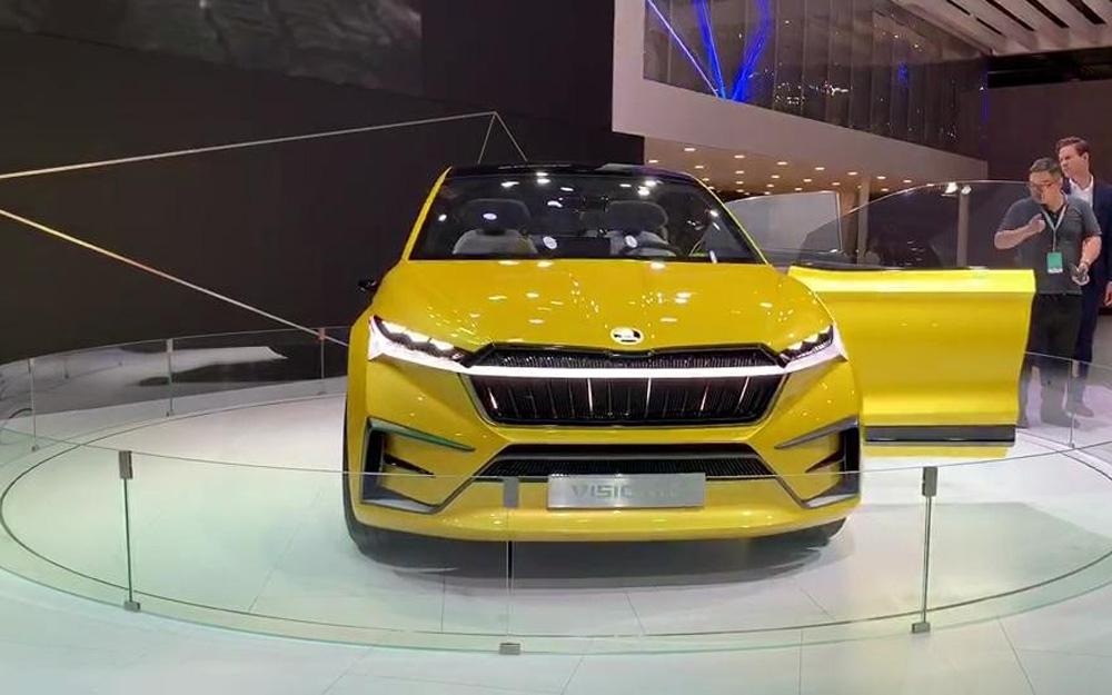 以电动与智能为亮点 斯柯达携多款车型亮相上海车展