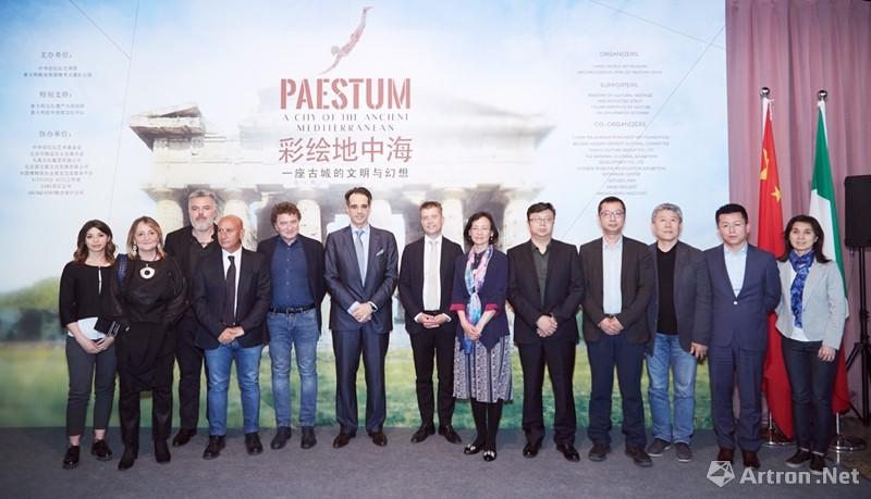 """地中海古城帕埃斯圖姆珍貴文物首次""""走出""""歐洲,亮相北京"""