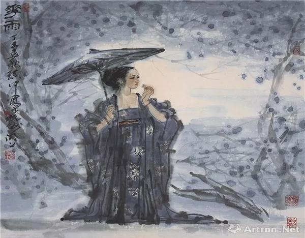 西泠名家黄镇中的书画艺术