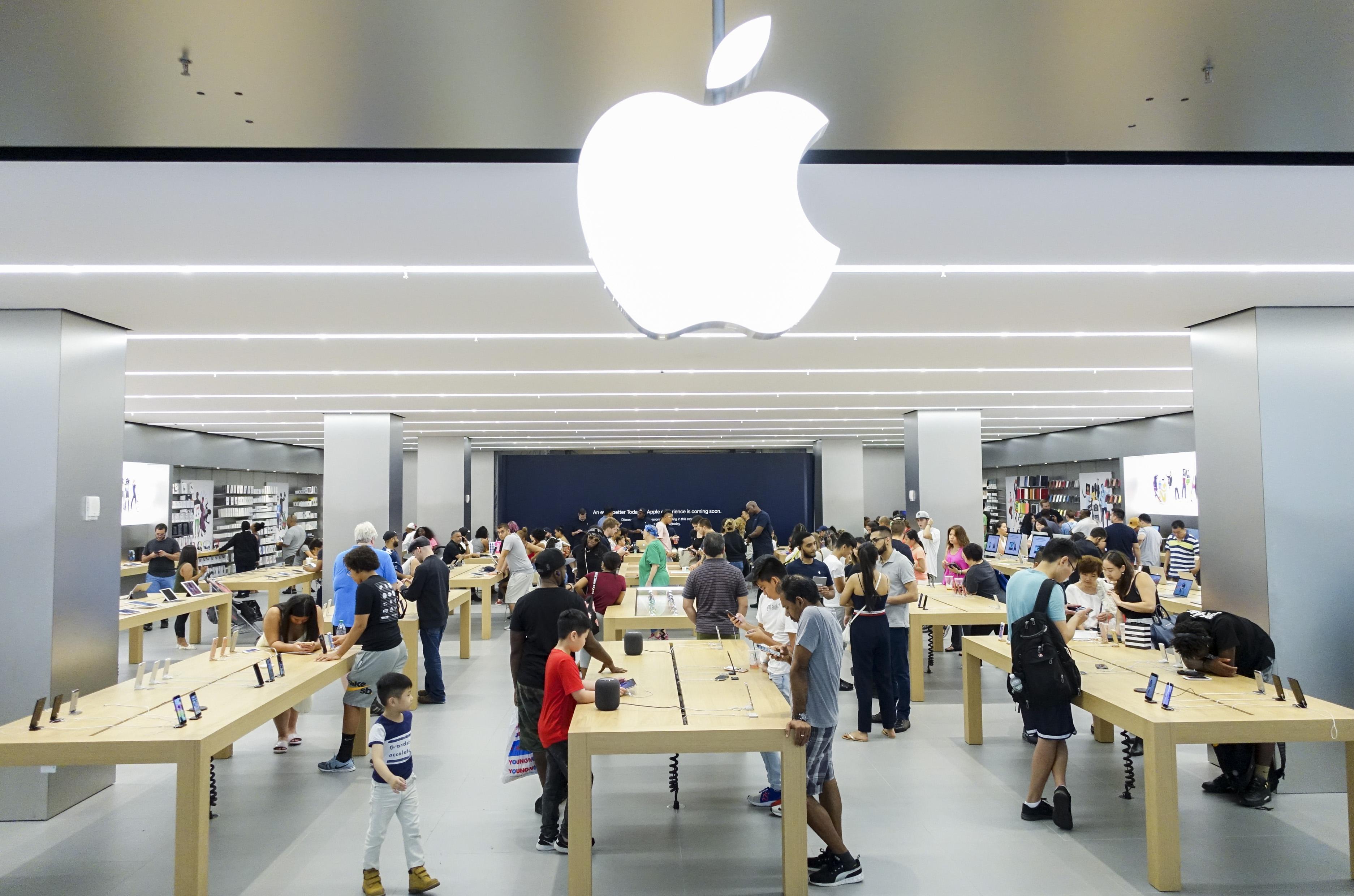 兩周市值蒸發近千億美元 蘋果光環正在褪去