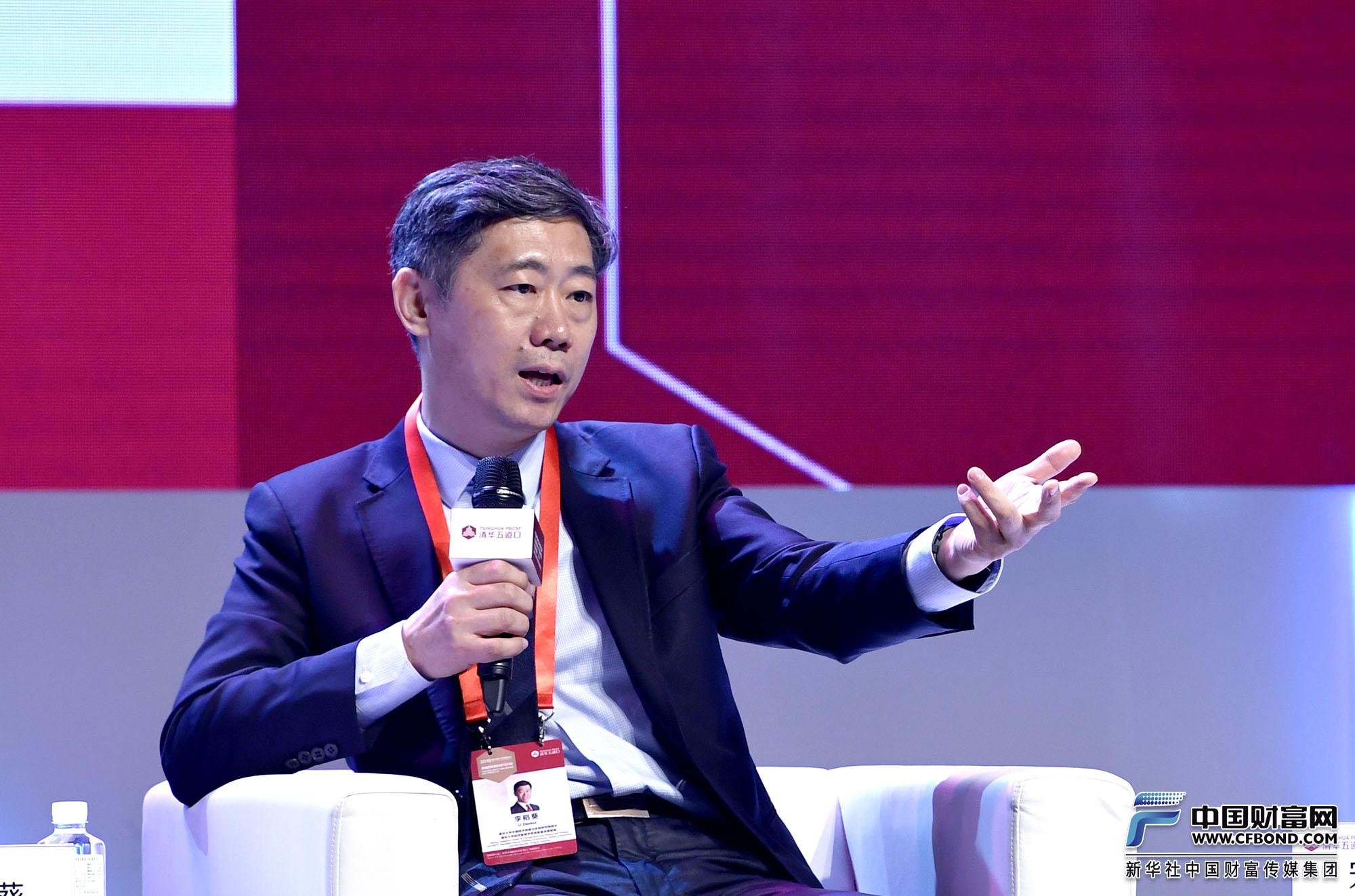 演讲嘉宾:清华大学中国经济思想与实践研究院院长李稻葵