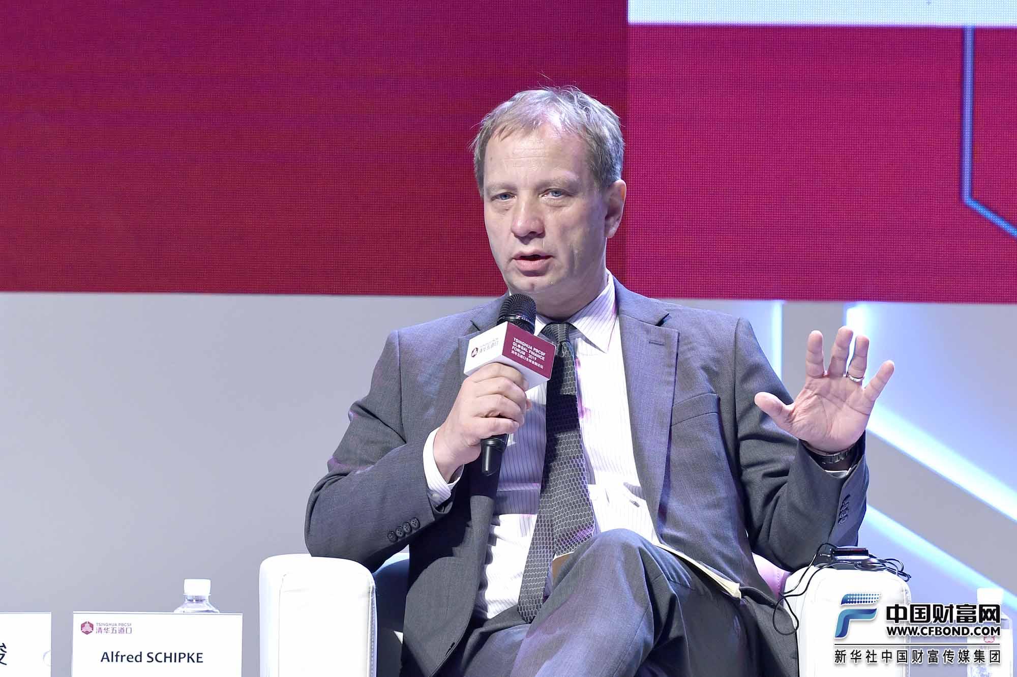对话嘉宾:国际货币基金组织驻中国首席代表Alfred Schipke