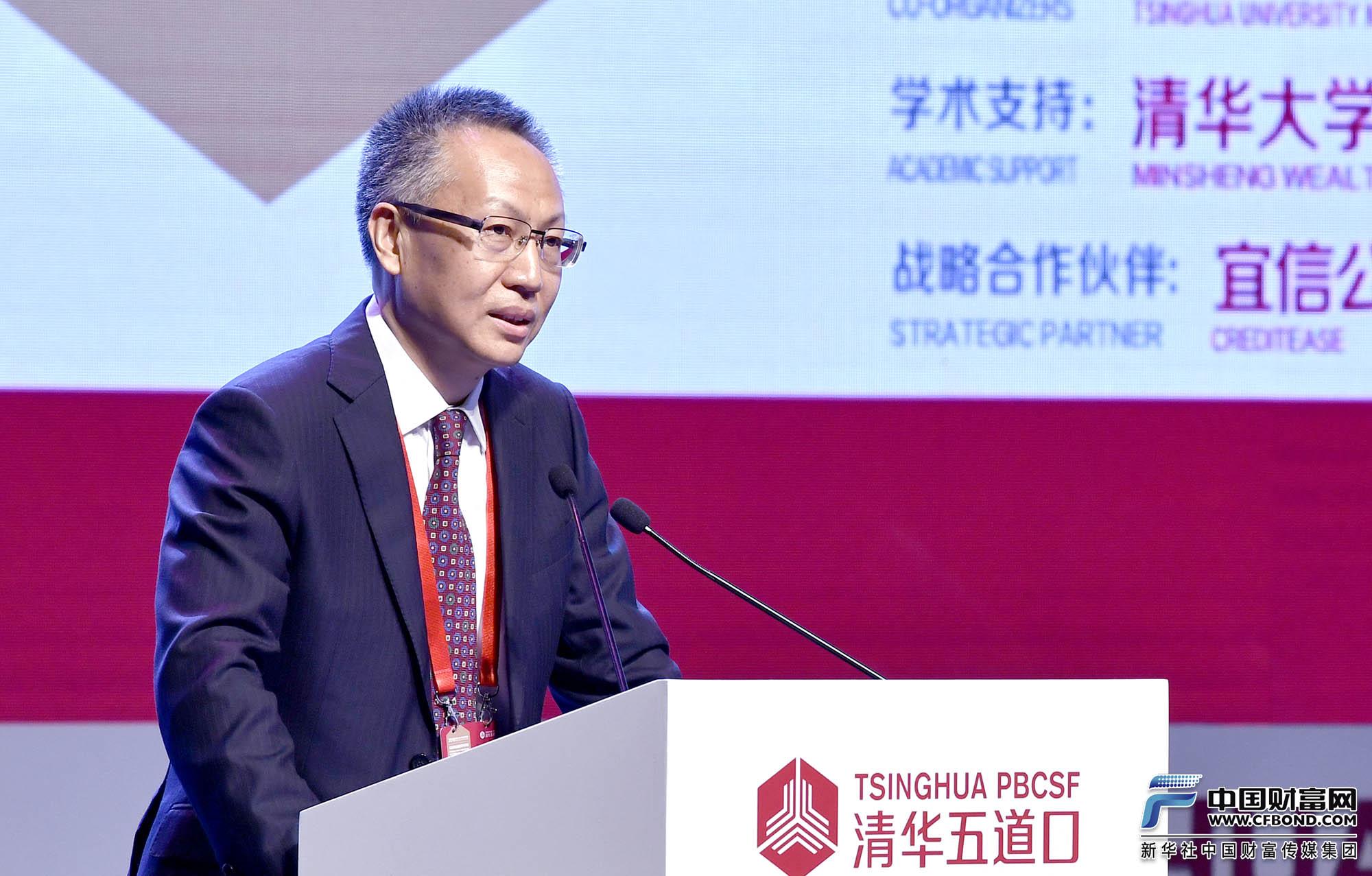 演讲嘉宾:华夏银行行长,清华大学五道口金融学院战略咨询委员会委员张健华