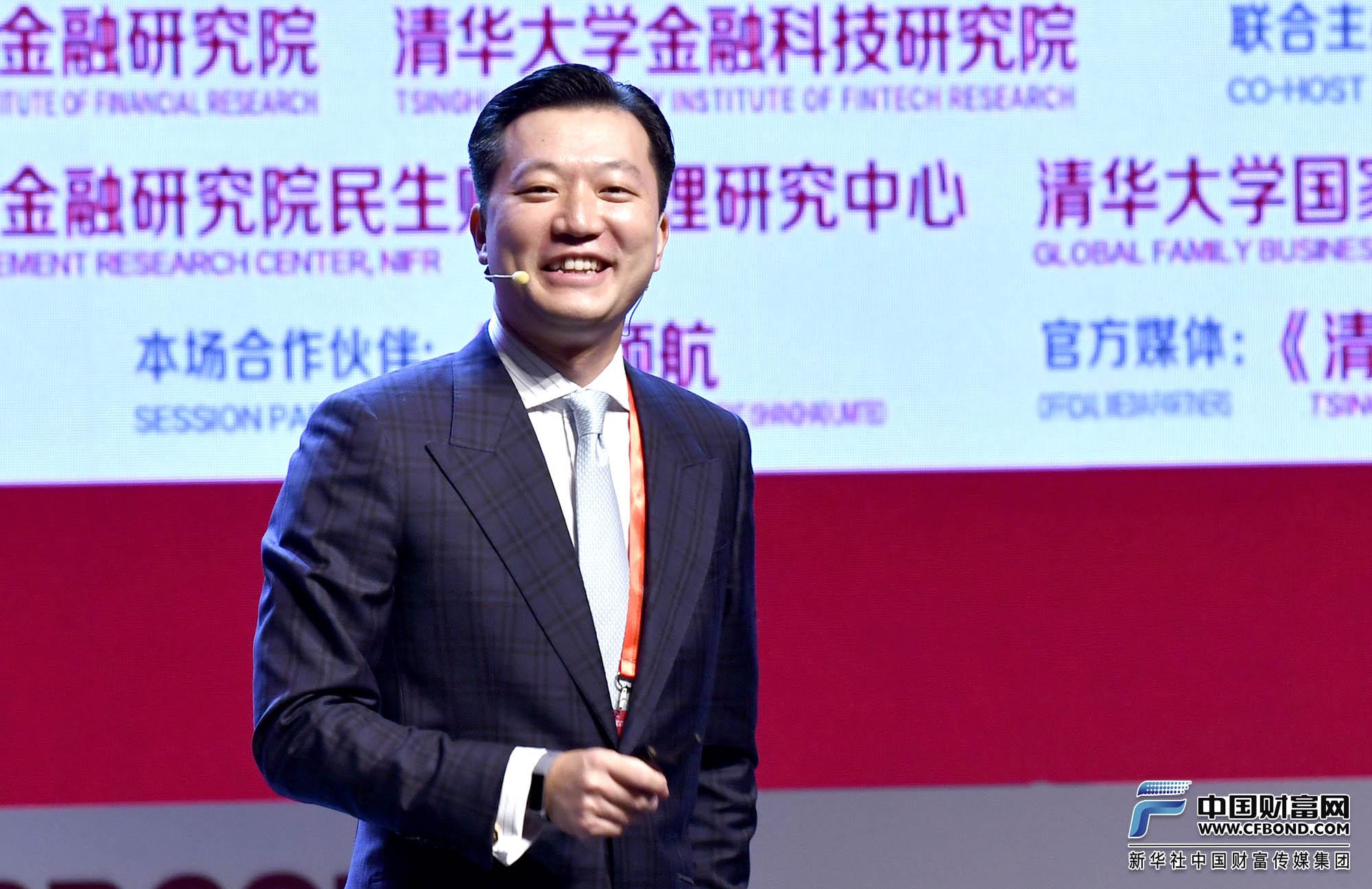 演讲嘉宾:Vanguard集团亚洲区总裁林晓东