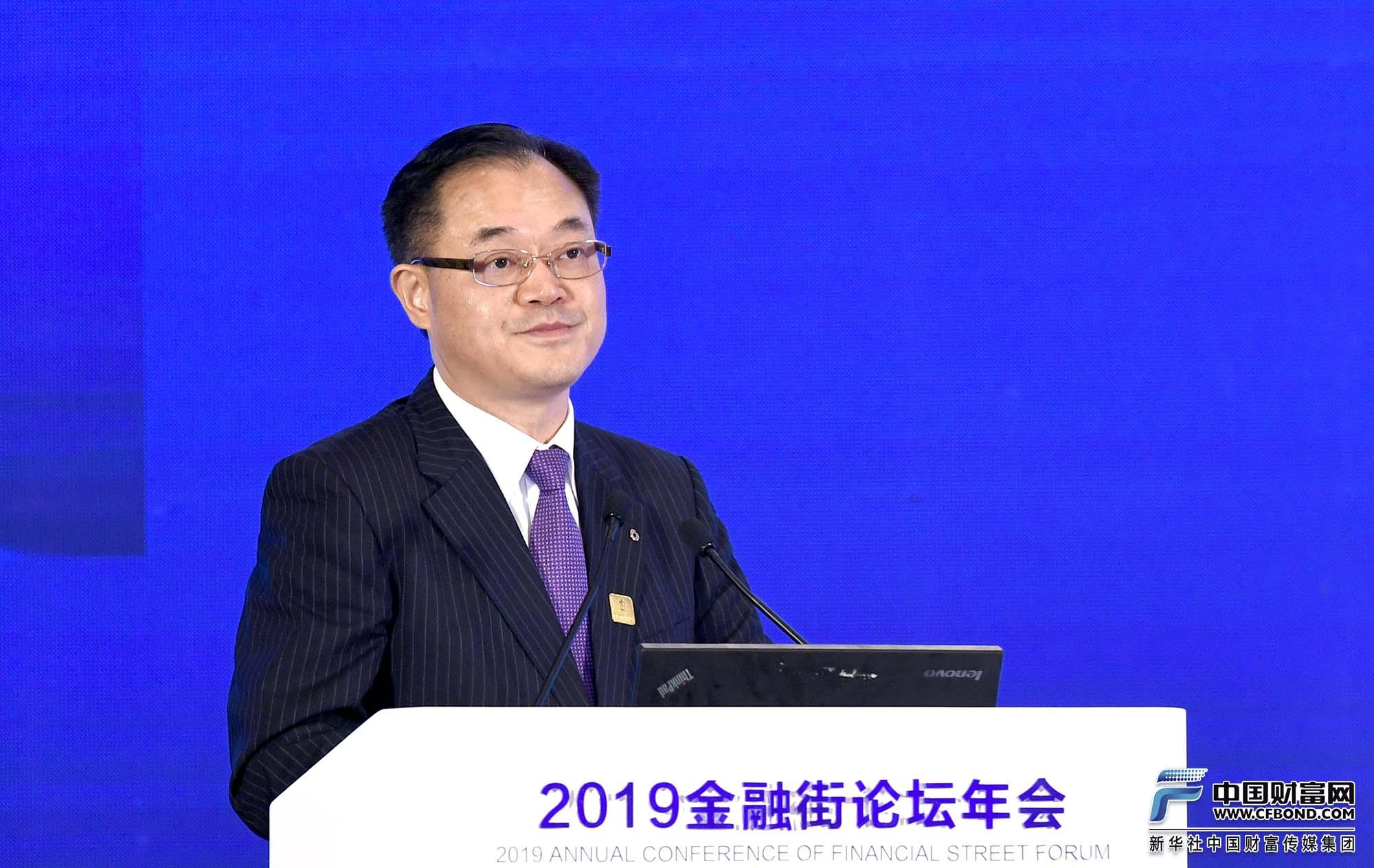 演讲嘉宾:中国建设银行行长刘桂平