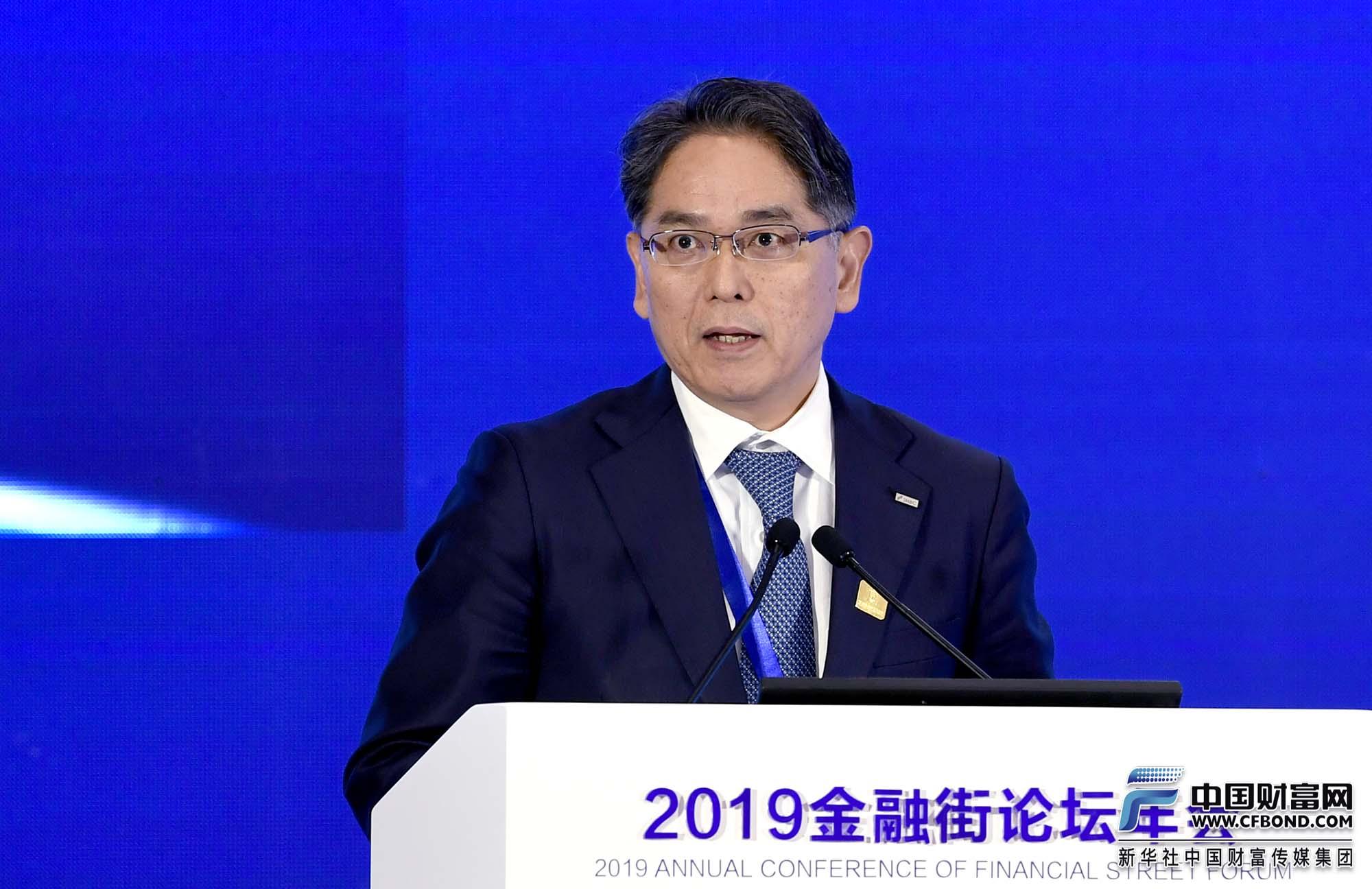 演讲嘉宾:三井住友金融集团常务执行委员兼东亚地区总裁吉冈成充