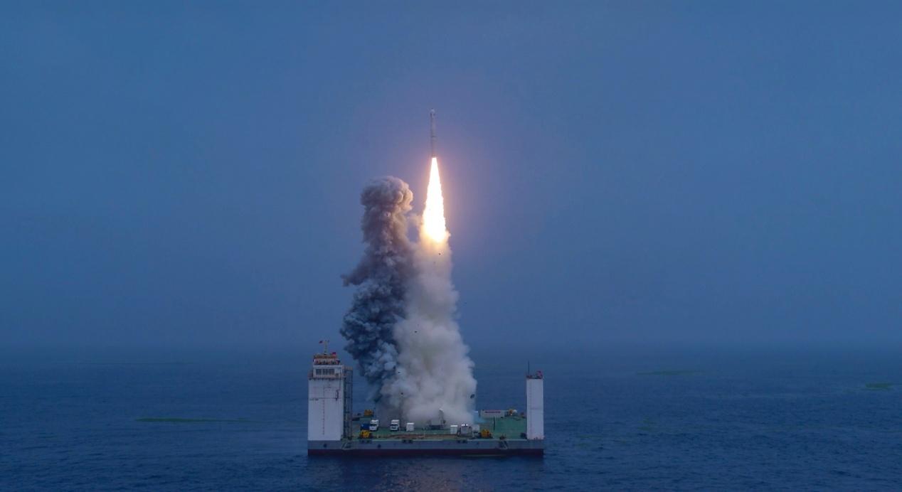 中国航天携手WEY品牌 完成我国首次火箭海上发射