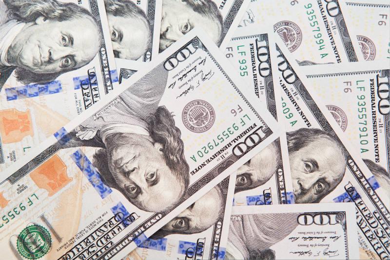 美元指数上涨0.58%