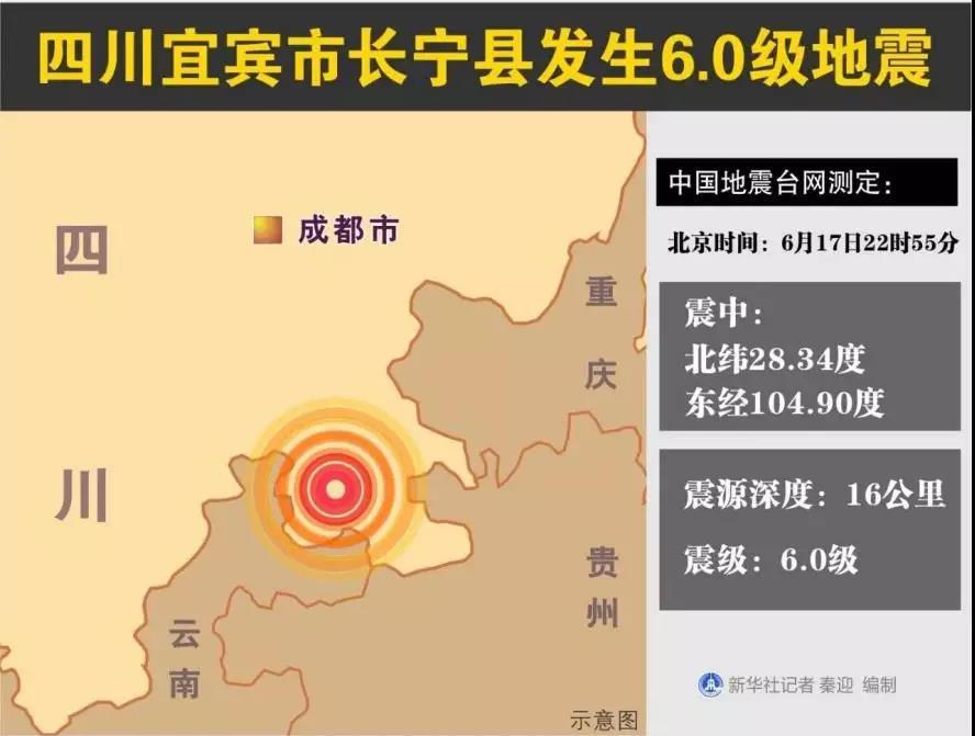 """四川宜賓上市公司未受影響 地震預警""""神器""""刷屏了"""