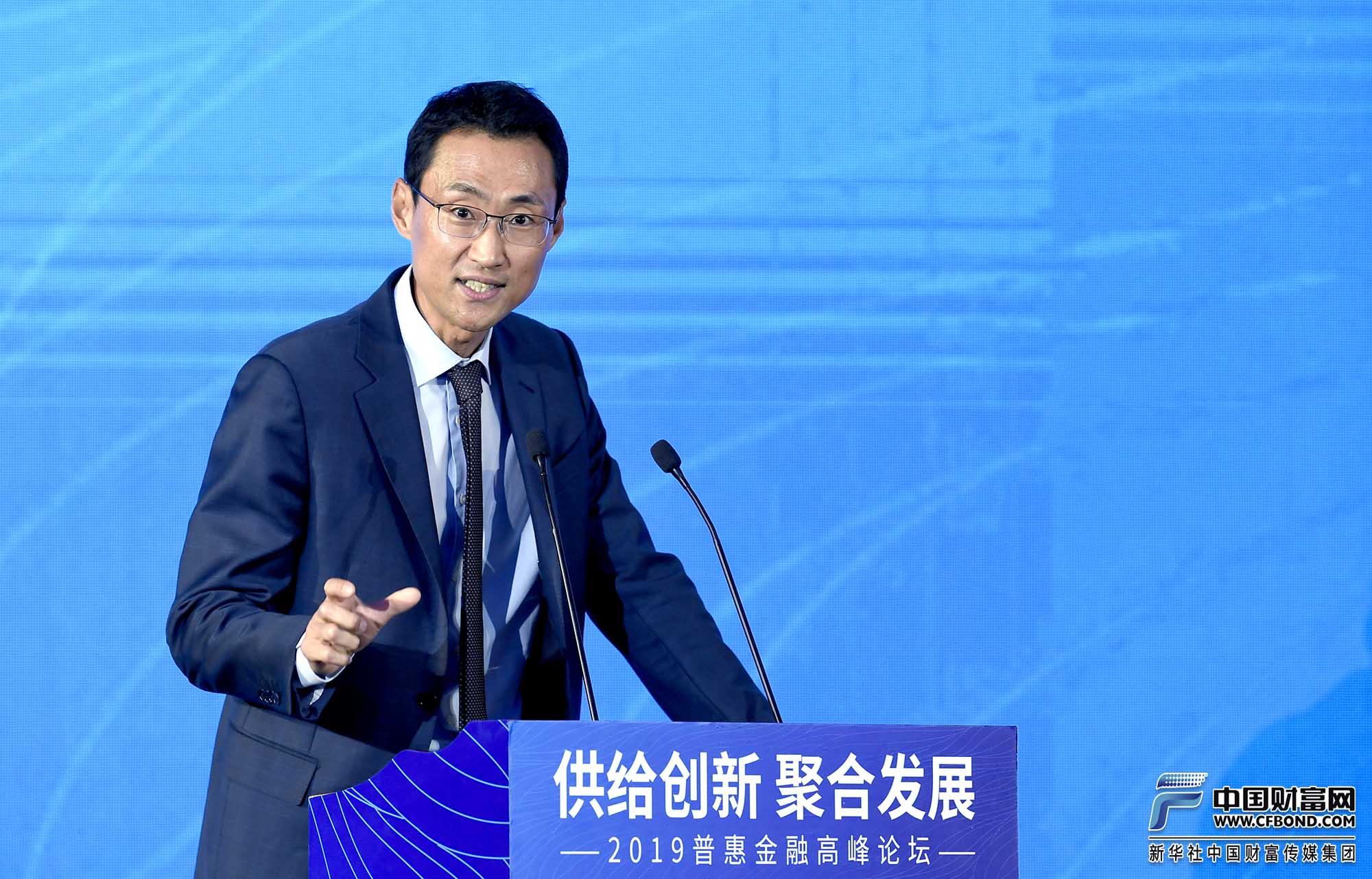 演讲嘉宾:平安普惠董事长兼CEO赵容奭