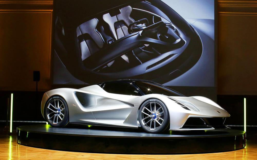 全球首款纯电动超级跑车亮相伦敦