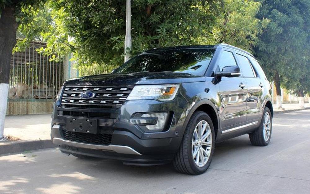 福特汽车(中国)有限公司召回部分进口探险者汽车
