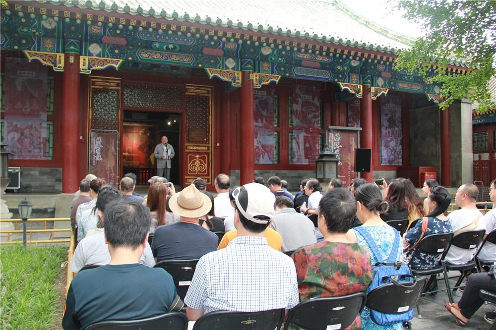 中国古代壁画现状模写展开幕 担负抢救壁画遗存的重任