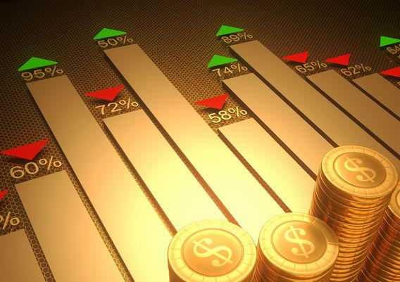 纽约商品交易所黄金期货市场12月黄金期价19日下跌
