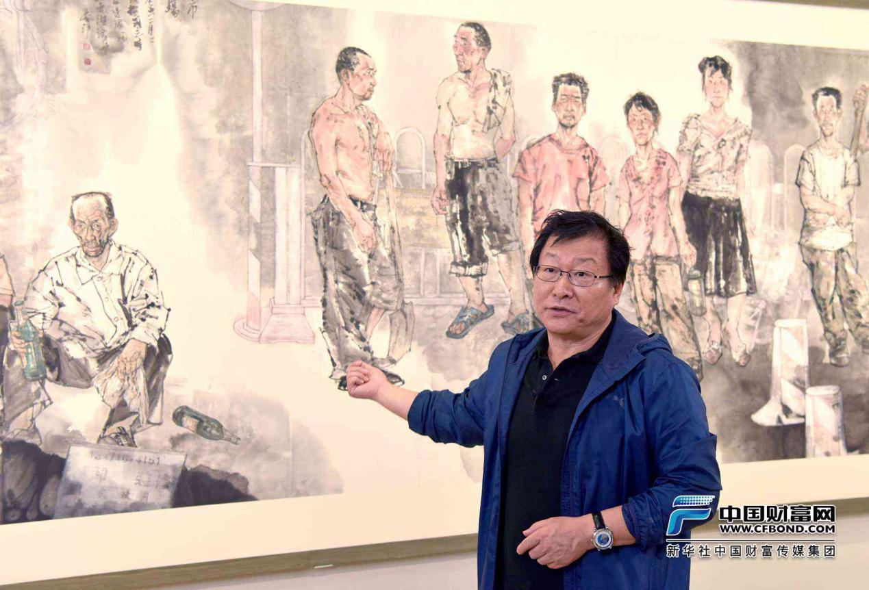 """""""写生作品化""""!20余幅现实主义人物画亮相中国美术馆"""
