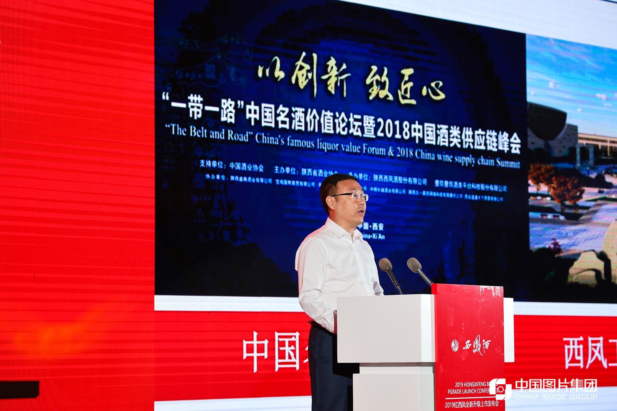 董事长张正做红西凤之品牌战略规划发言