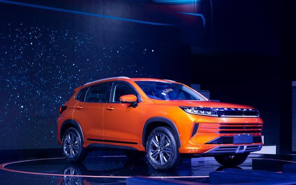 EXEED星途LX成都车展全球首发并同步预售