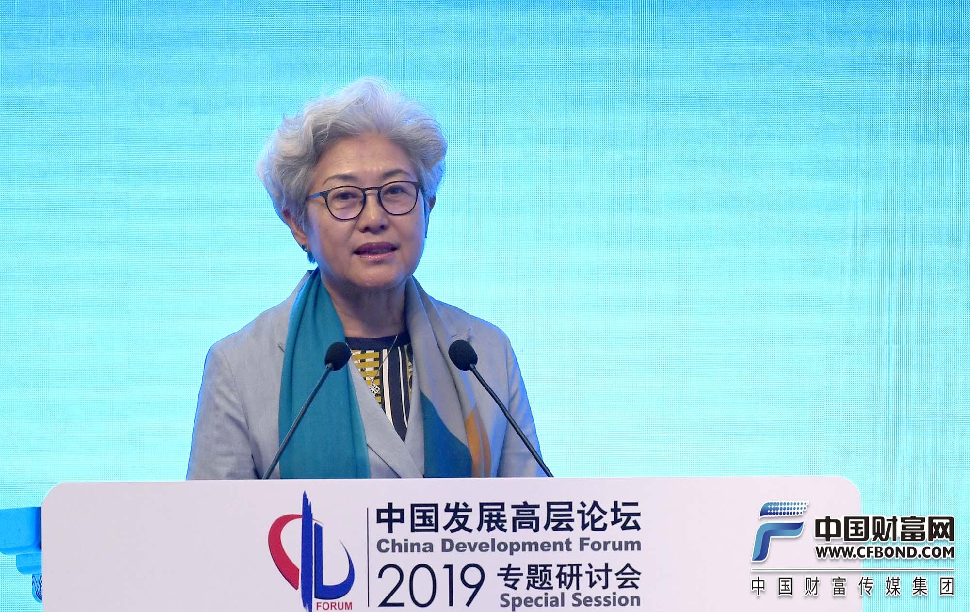 清华大学战略与安全研究中心主任傅莹发言
