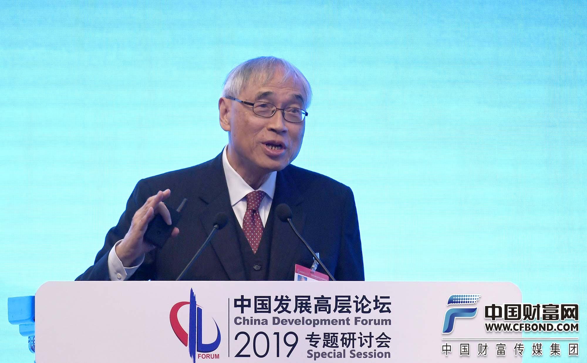 香港中文大学教授刘遵义发言