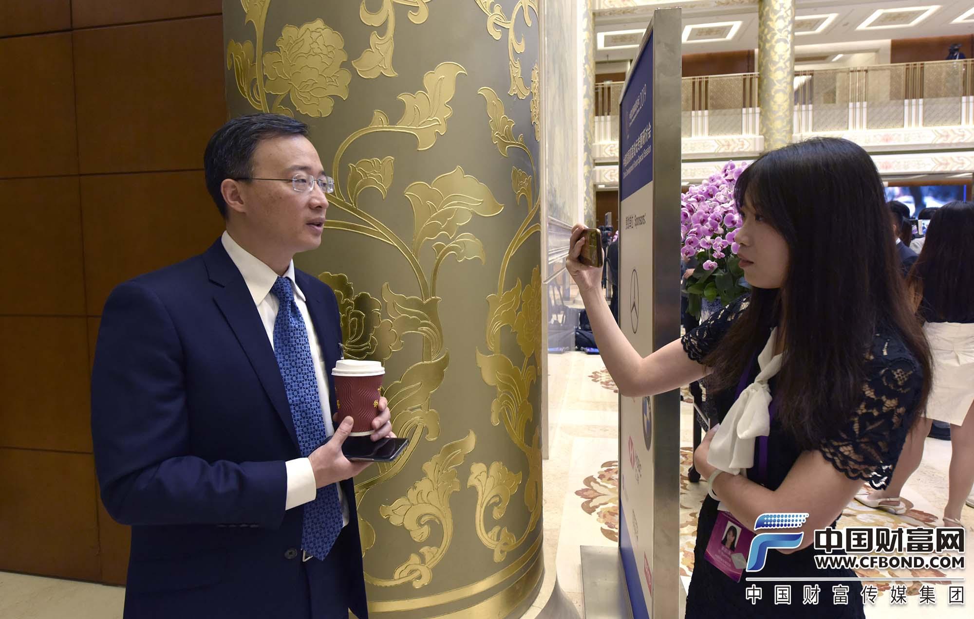 京东集团副总裁、京东数字科技首席经济学家沈建光接受采访