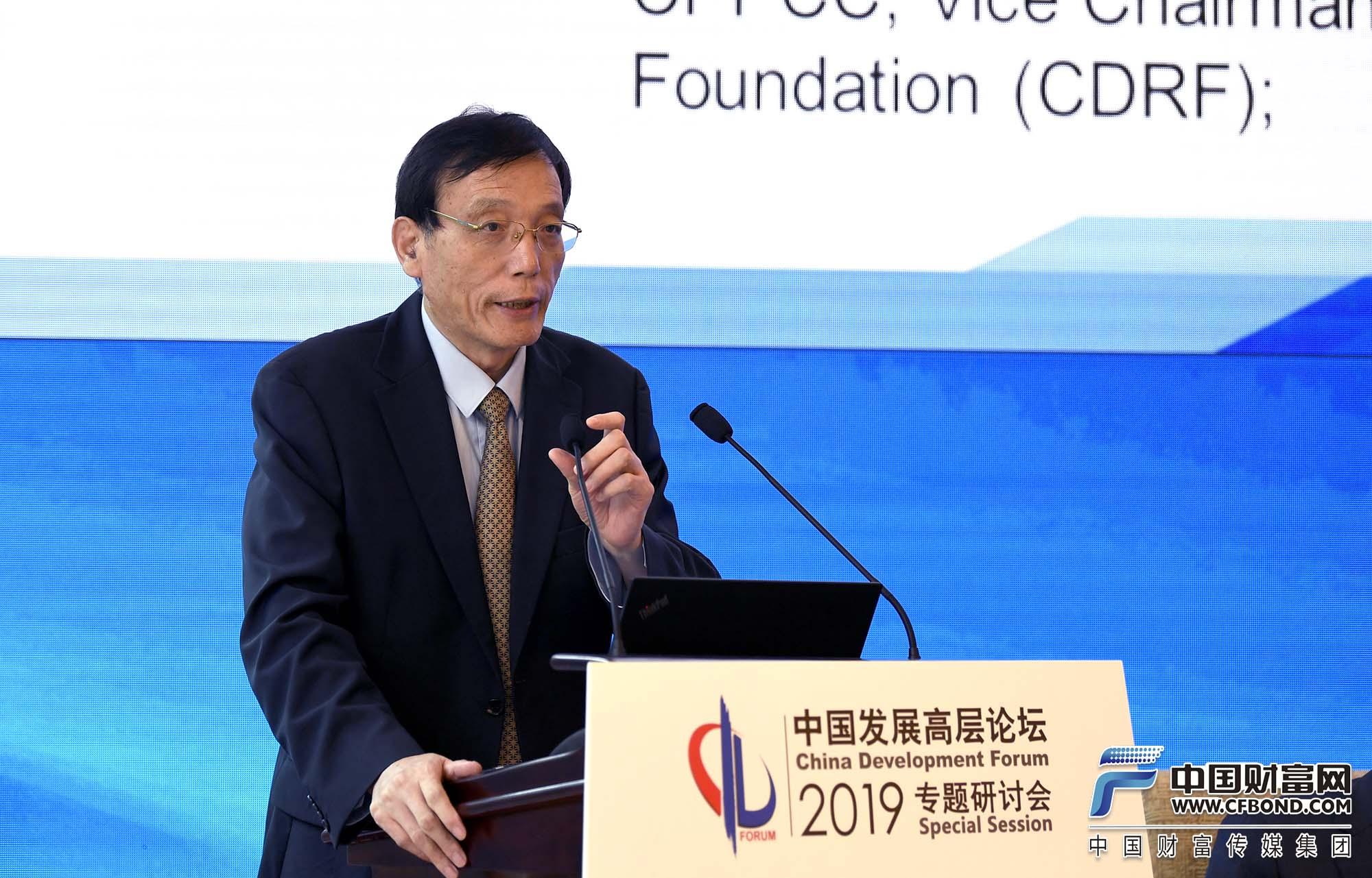 全国政协经济委员会副主任;中国发展研究基金会副理事长刘世锦发言