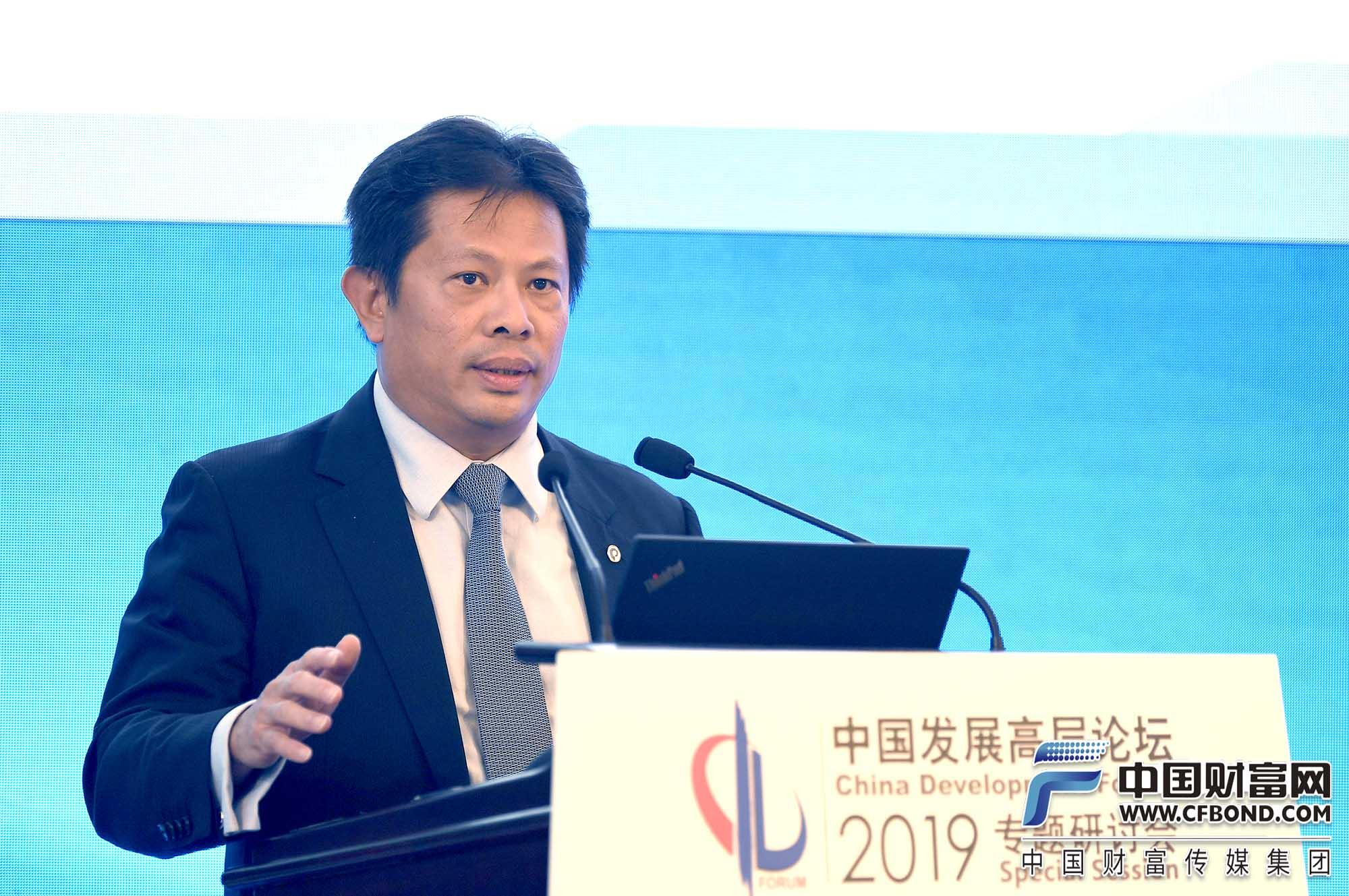 美国信安金融集团亚洲区总裁张维义发言