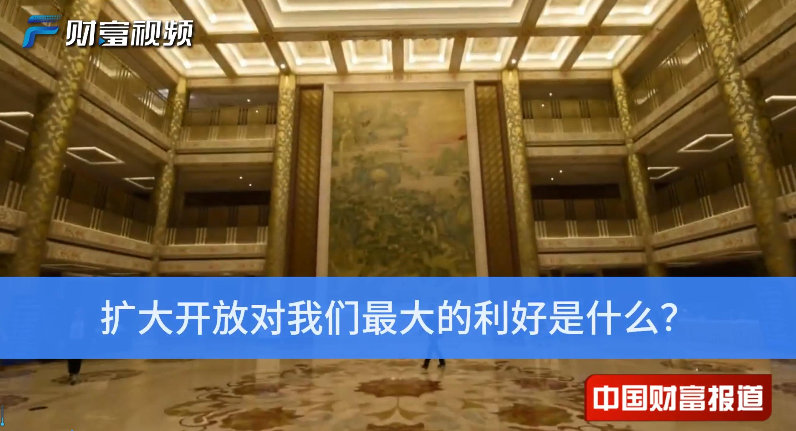 【中国财富报道】李稻葵:扩大开放对我们最大的利好是什么?
