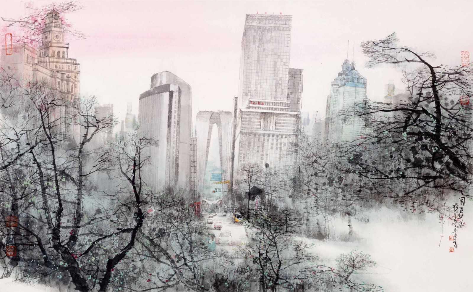 """【展覽預告】""""壯麗70年 藝繪新時代——慶祝中華人民共和國成立70周年蘇州市美術書法作品展""""將在蘇州美術館開展"""