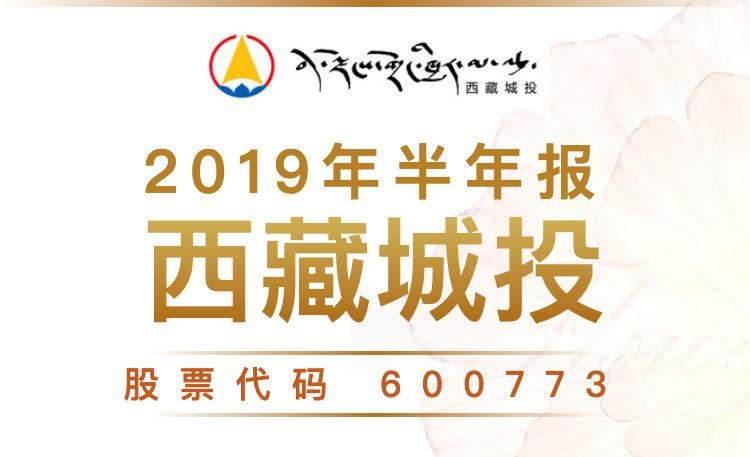 一图读财报:西藏城投2019年上半年营业总收入6.19亿元