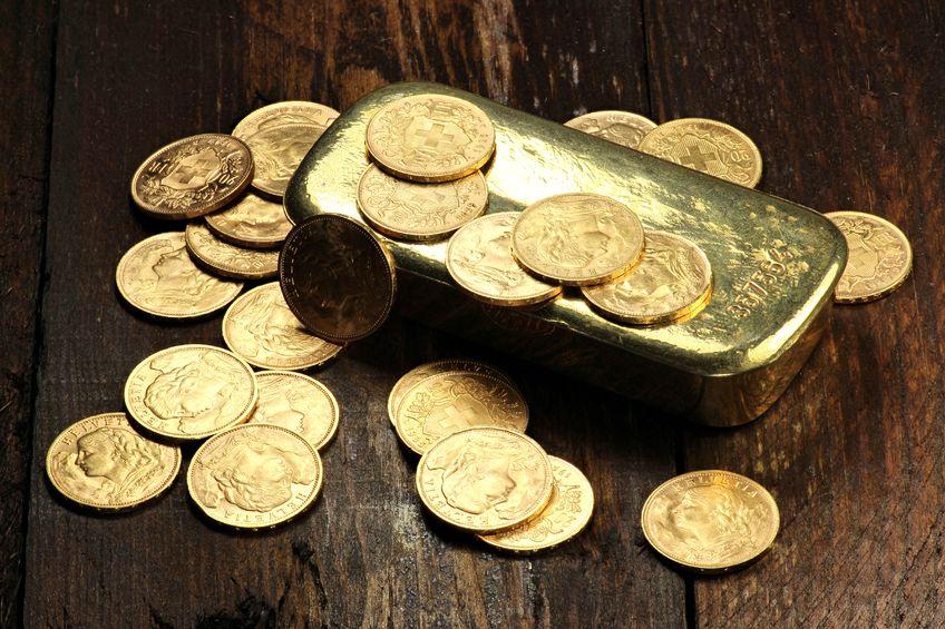 纽约商品交易所黄金期货市场12月黄金期价18日上涨