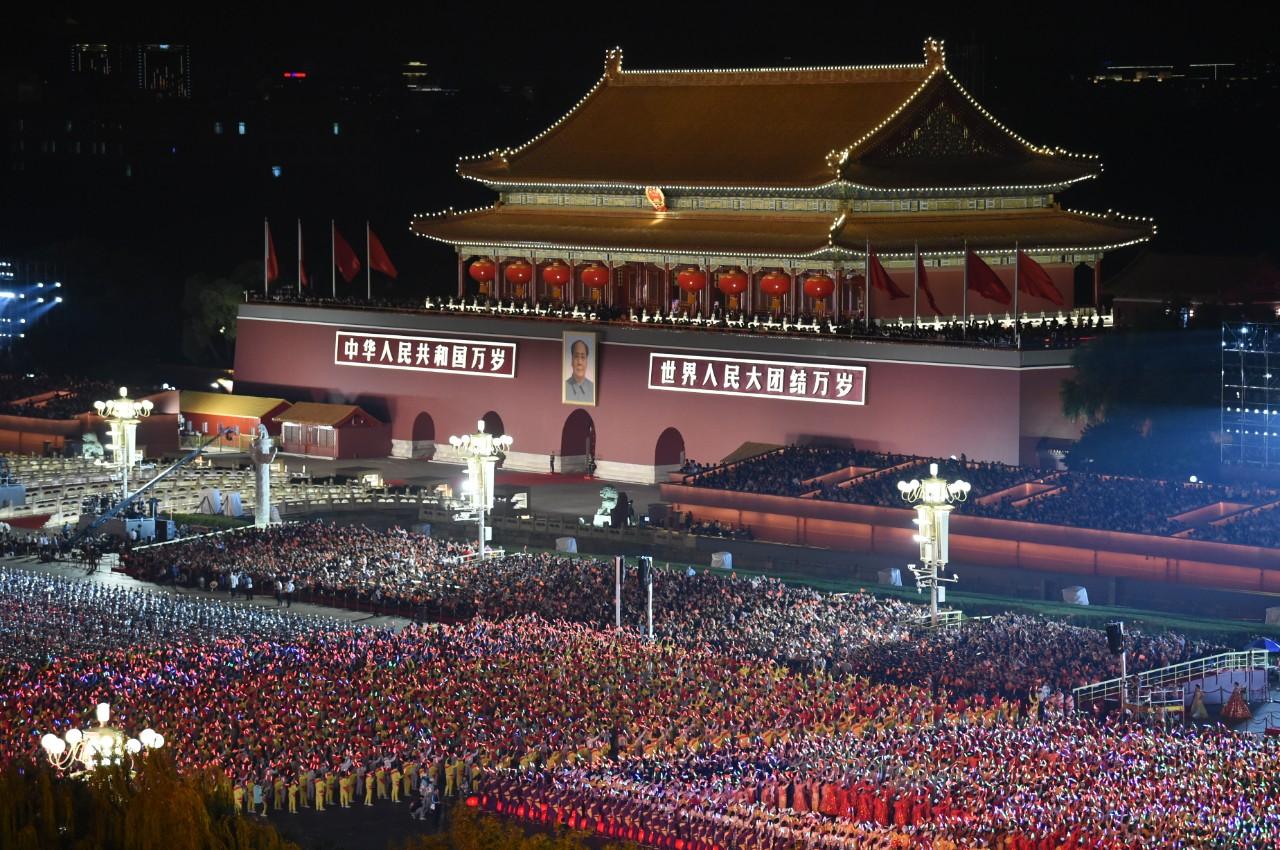 這就是今晚的北京!