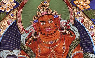 西藏唐卡五大畫派齊聚中華藝術宮 展現藏族經典藝術精華