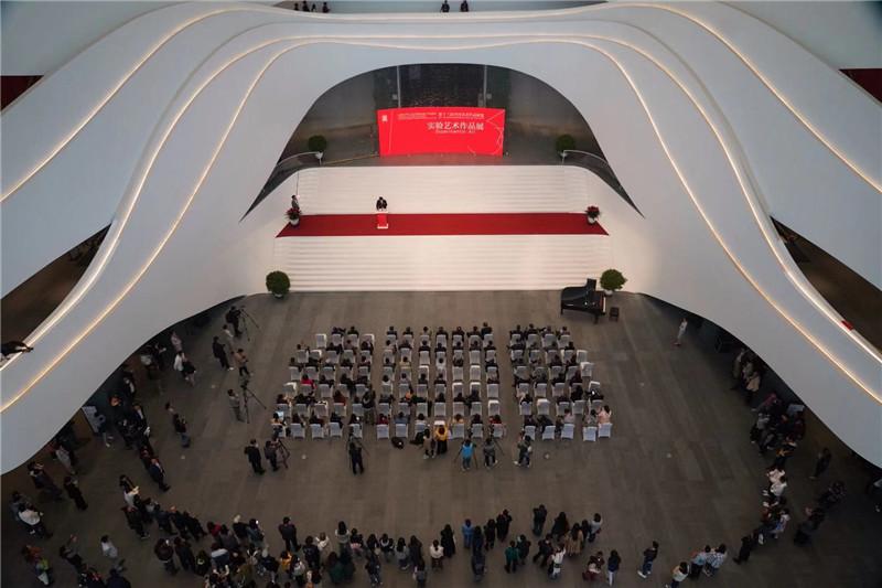 十三屆全國美展 | 實驗藝術作品展區在廊坊開幕 展現藝術方法論的豐富構建