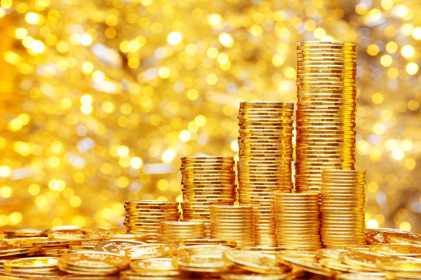 纽约商品交易所黄金期货市场12月黄金期价10月31日上涨
