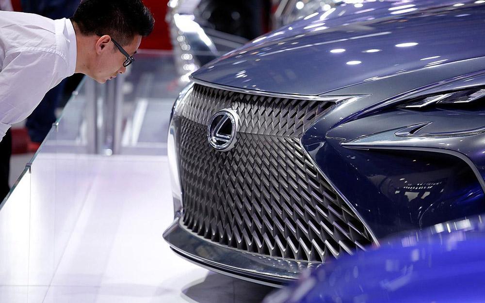 """""""雷克萨斯""""首款电动车型将亮相广州车展"""
