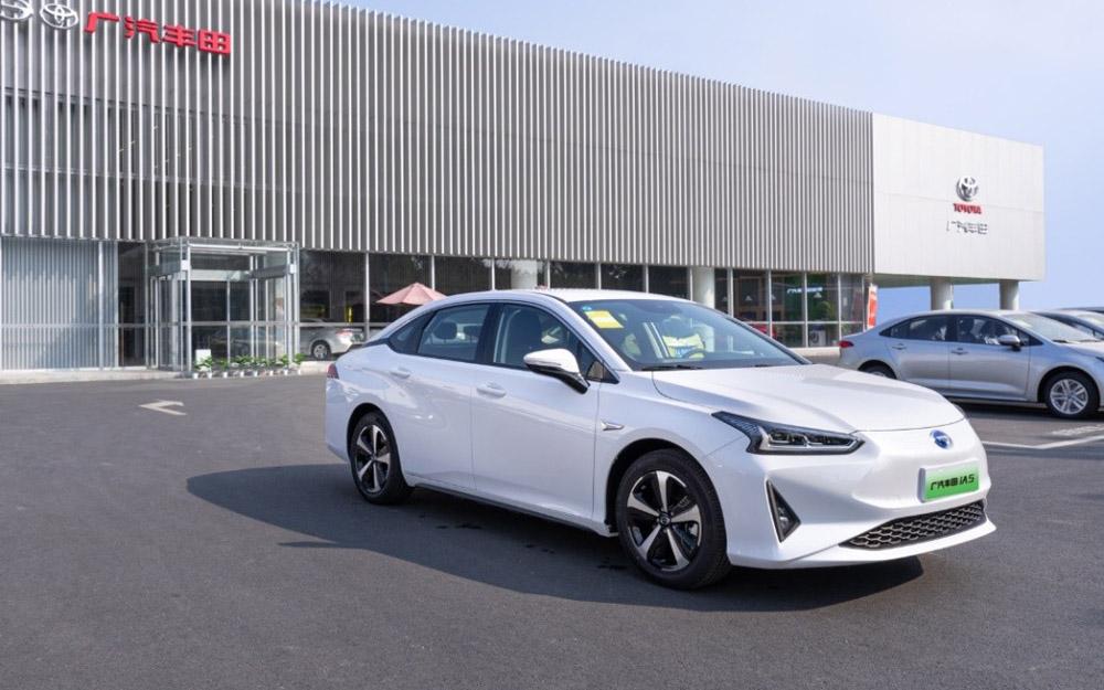 广汽丰田iA5现车到店 补贴后售价16.98万元起