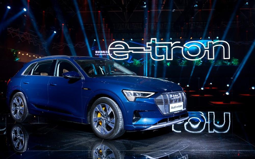 一汽-大众奥迪携e-tron等多款车型亮相广州车展