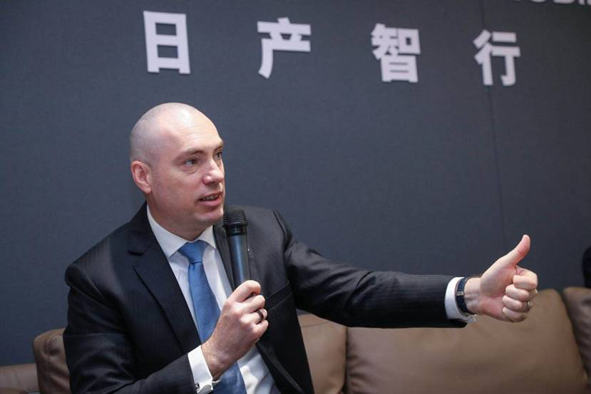 安东尼·巴瑟斯:日产智行在中国落地已有计划表