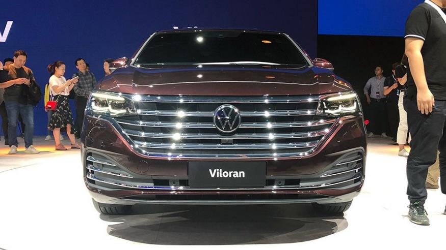 Viloran全球首秀 上汽大众多款新车亮相广州车展
