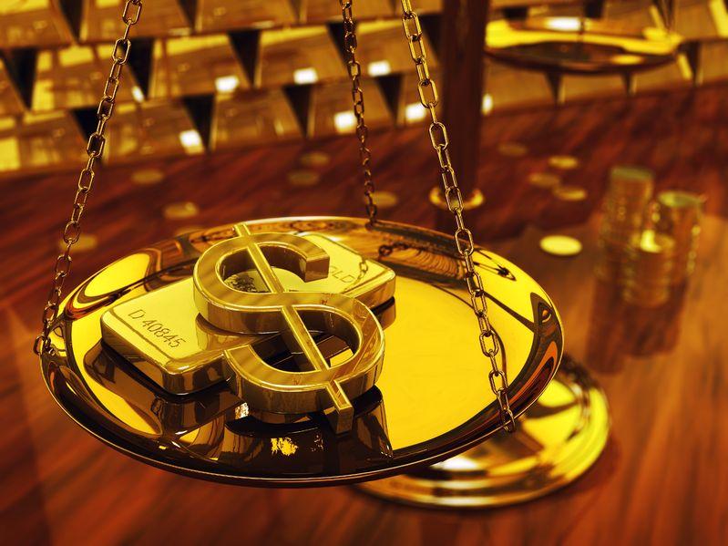 纽约商品交易所黄金期货市场2020年2月黄金期价27日下跌