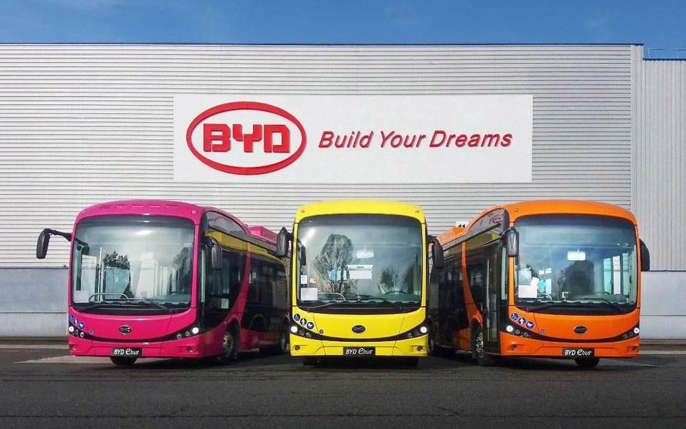 比亚迪纯电动大客车销量全球第一