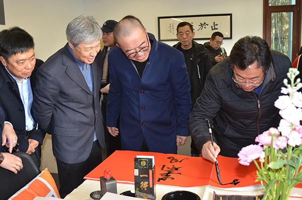 """""""健笔平亭——张健平书法作品展""""在京开幕"""