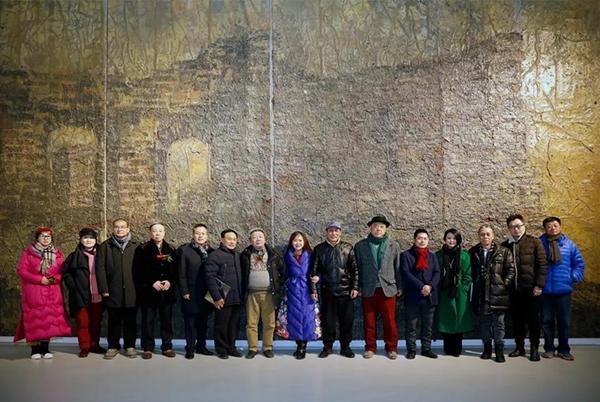 李广明艺术文献展在宋庄当代艺术文献馆开幕
