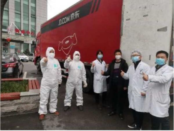 承运社会救援物资、上线公益募捐平台、启动在线义诊……京东多措支援疫情防控