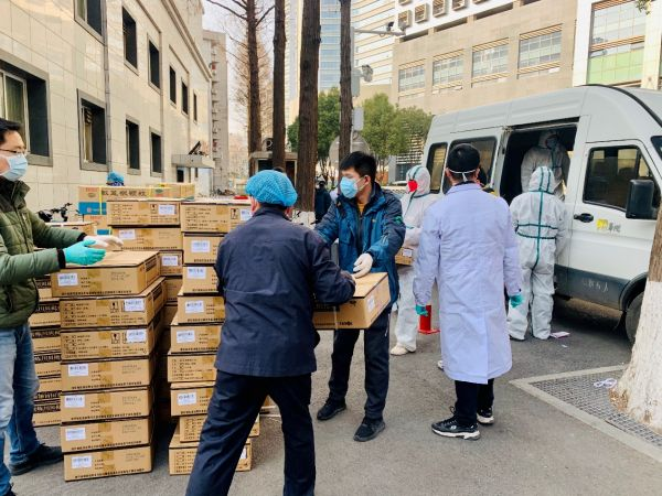 广药集团向武汉同济医院紧急捐赠300万元药物
