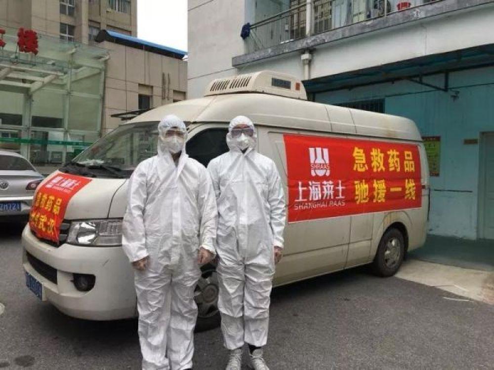 上海萊士向武漢捐贈藥品、現金共800余萬元